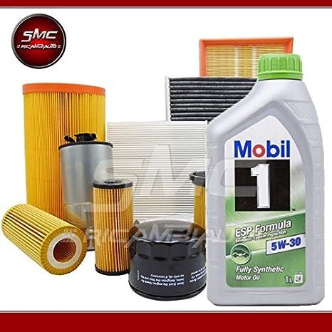Kit Tagliando con 4 filtros Misti (Filtro Aceite, filtro aire, filtro de combustible
