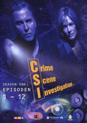 Csi Crime Scene Investigation 2001 - CSI: Crime Scene Investigation - Season 1.1 (Amaray) [3 DVDs]