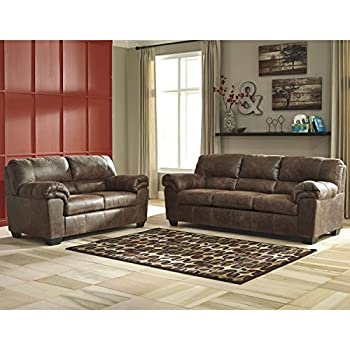 Flash Furniture Signature Design By Ashley Bladen Living Room Set In Coffee Faux