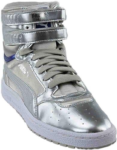 PUMA Women's Sky II Hi Explosive Sneaker Silver Size 7.0