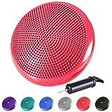 """Reehut Stability Balance Disc Trainer - 13"""" Diameter Wobble Cushion w/Air Pump"""