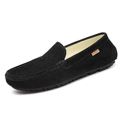 Shufang-shoes, Zapatos Mocasines para Hombre 2018 Mocasines de Hombre, Ropa Casual con