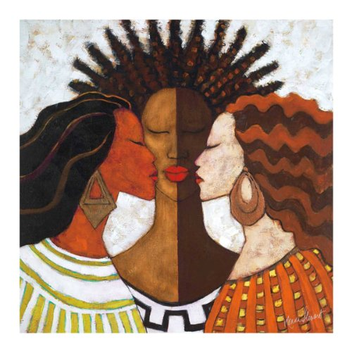 Every Woman by Monica Stewart African American Print Poster 18x18 ()