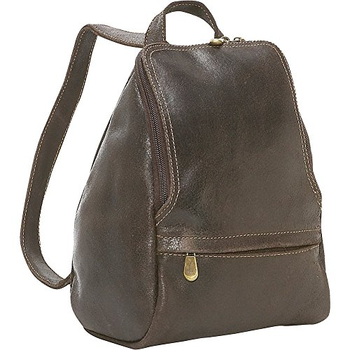le-donne-leather-distressed-leather-u-zip-womens-backpack-chocolate