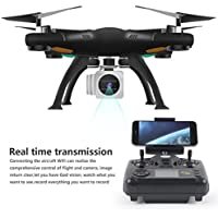 Kinrui Wifi FPV RTF 2.4G 4CH RC Quadcopter Gimbal Camera Drone with HD Camera UAV