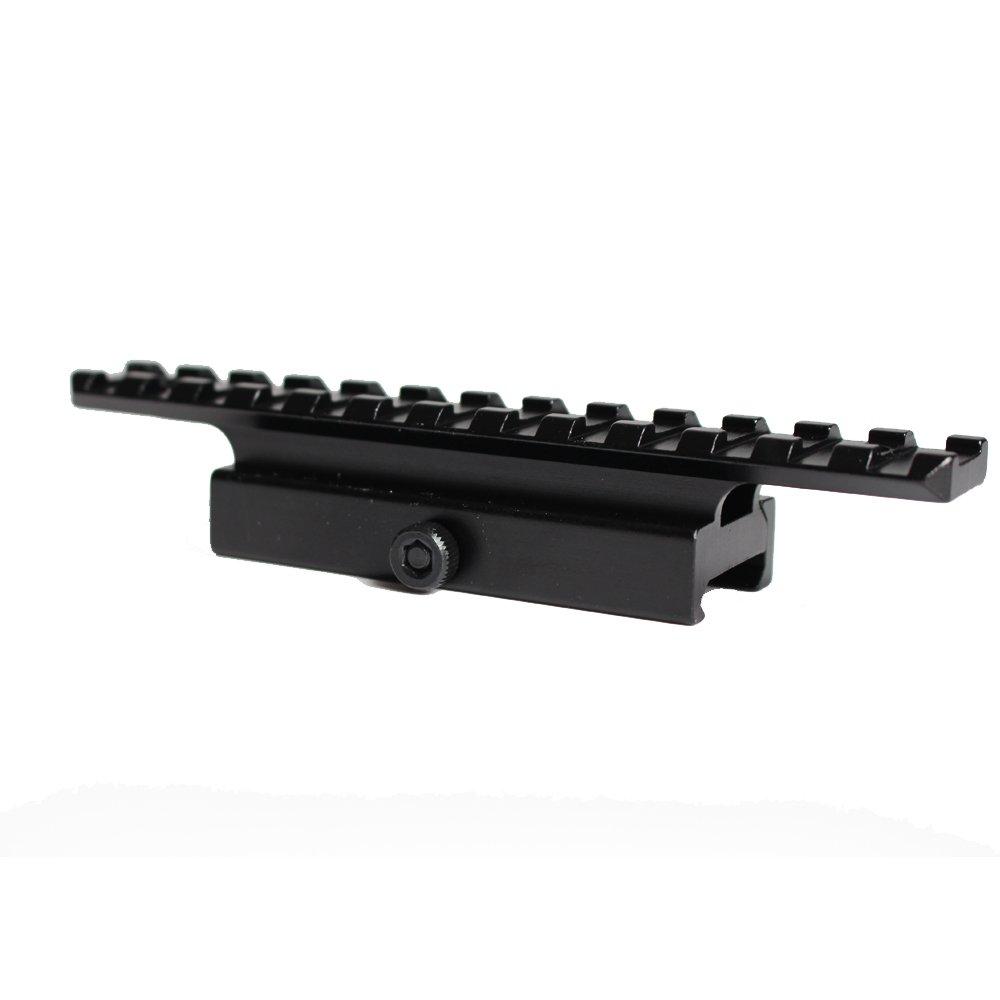 Noga Quick Release Picatinny Rail Mount Adapter Konverter QD Scope Rail Riser Mount 20mm Rail Base 135mm lang