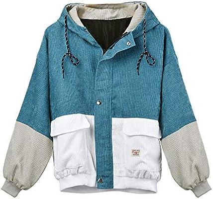 AOJIAN Women Jacket Long Sleeve Outwear Hooded Folk Custom Print Vintage Button Oversize Pullover Coat