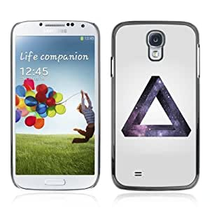 Designer Depo Hard Protection Case for Samsung Galaxy S4 / Space Hipster Galaxy Triangle