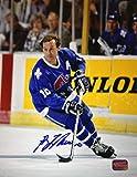 Guy Lafleur Signed 8x10 Photograph - Quebec Nordiques (Blue)