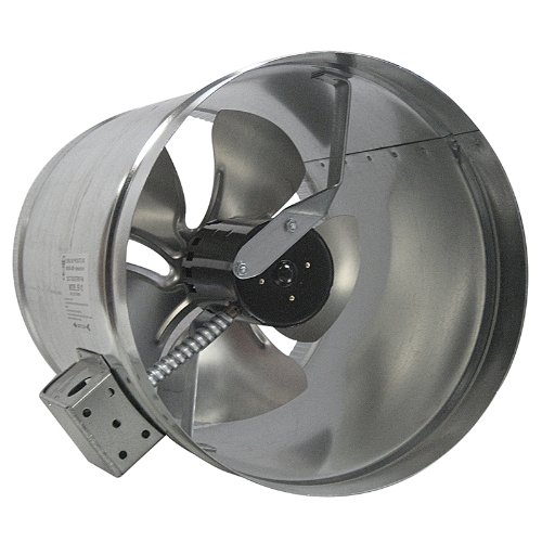 Tjernlund EF-10 Duct Booster Fan, 475 CFM, 10''