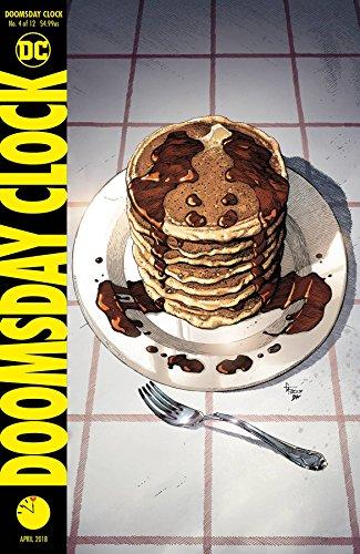 DOOMSDAY CLOCK #4 (OF 12) CVR A Release date 2/28/18 Doomsday Clock