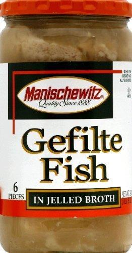 Fish Gefilte Jel -Pack of 6 by Manischewitz by Manischewitz