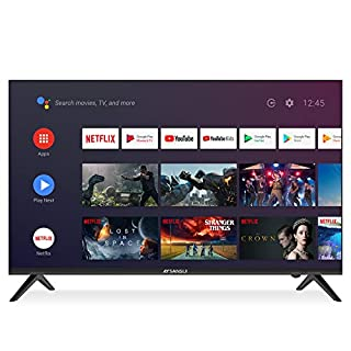 SANSUI 43 Inch 4K Ultra HD Smart Android DLED TV HDR with Dolby Sound,Voice Remote Flat Screen Television (ES43S1A 2020 Model)…