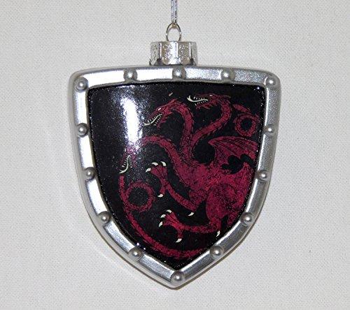 Game of Thrones Targaryen Shield Ornament