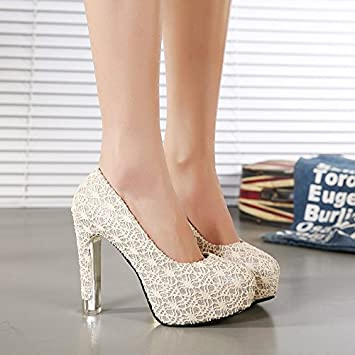 high heeled shoes waterproof shoes spiderweb lace princess shoes