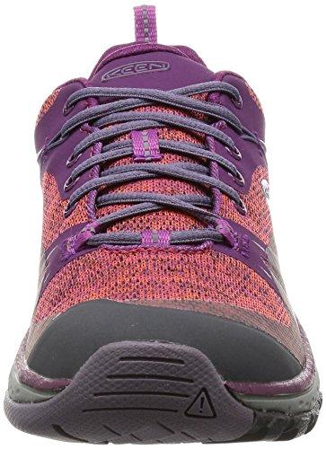 Keen Damen Terradora Wp Trekking-& Wanderhalbschuhe dark purple/purple sage