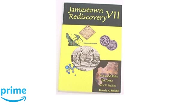 Amazon Jamestown Rediscovery VII William M Kelso Health Personal Care