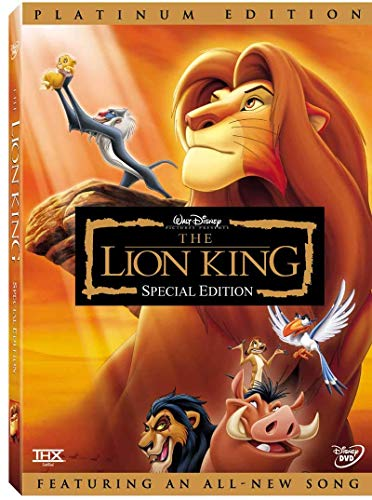 (Lion King DVD Platinum Edition (2 Disc Set))