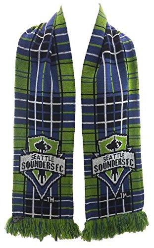 Seattle Sounders FC MLS Scarf - Tartan Scarf