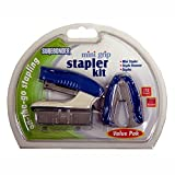 Surebonder 2000 Mini Grip Stapler Kit-Mini Stapler, Staple Remover and 1000 Staples