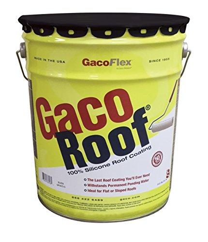 GacoRoof 5 Gallon Black - GR1673-5