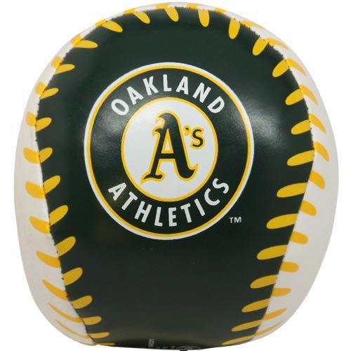MLB Rawlings Oakland Athletics 4'' Quick Toss Softee Basebal
