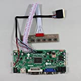 VSDISPLAY®HDMI+VGA+DVI+Audio LCD Controller Board M.NT68676 work for 10.1