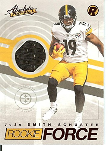 Football NFL 2017 Absolute Rookie Force Red #1 JuJu Smith-Schuster Steelers by