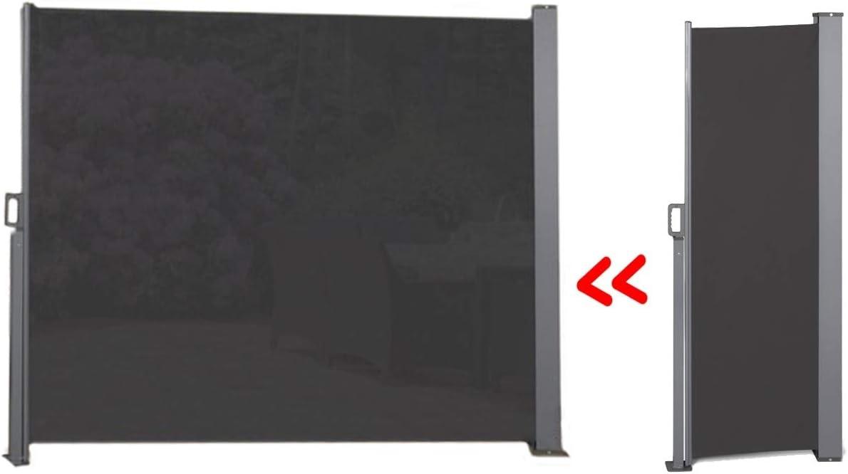 Amazon De 909 Outdoor Ausziehbare Seitenmarkise Fur Terrasse
