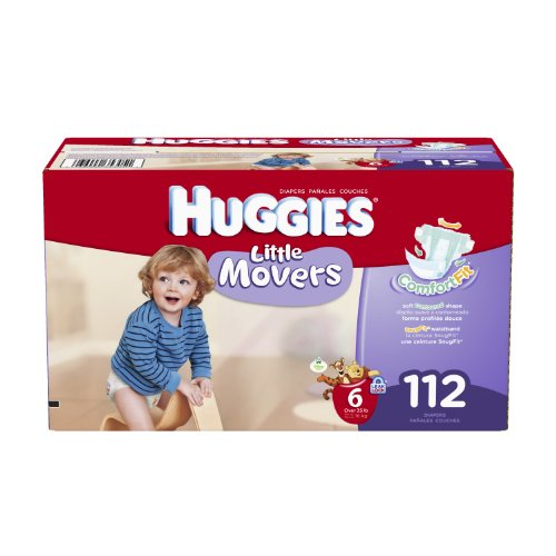 Huggies Little Diapers Economy packaging