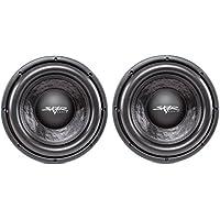(2) Skar Audio DDX-10 D4 10 1500W Max Power Dual 4 Car Subwoofer
