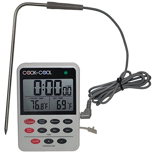 01 Barbecue - Cooper-Atkins DTT361-01 Digital Meat Thermometer, Cooling Thermometer (Cook N Cool - Cooking and Cooling Temperature Monitor)