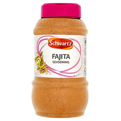 Schwartz Fajita condimento 530g (paquete de 6 x 530g)