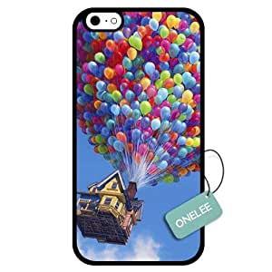 Onelee(TM) - Customized Cartoon Movie Up Adventure Is Out There TPU Case Cover for Apple iPhone 6 - Black 01