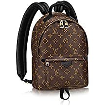 Authentic Louis Vuitton Monogram Canvas Palm Springs Backpack PM Handbag Article: M41560 Made in France