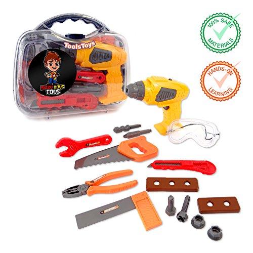Koru Kreative KORU Kids Tool Set Play Toy with Electronic Co
