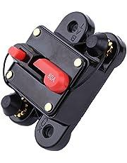 80-300 Amp Circuit Breaker-12V DC Circuit Breaker with Manual Reset Waterproof Fuse Holder for Car Marine Boat Bike Stereo Audio Reset Fuse,Black Circuit Breaker