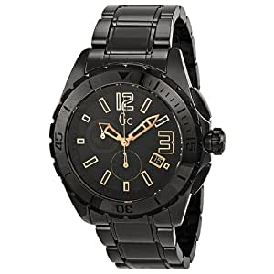 Guess Collection GC Sport Chronograph Black Ceramic Mens Watch X76014G2S