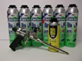 Dow Enerfoam 24 oz Gun Dispensed Foam (6) + Great Stuff Pro 14 Dispensing Gun (1)+Great Stuff Pro foam Gun Cleaner (1)