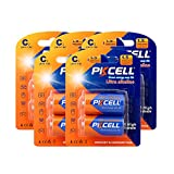 1.5V c size Batteries Super Alkaline Model LR14 AM2 count:PCS (10)