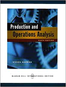 production and operations analysis 6th edition solution manual pdf