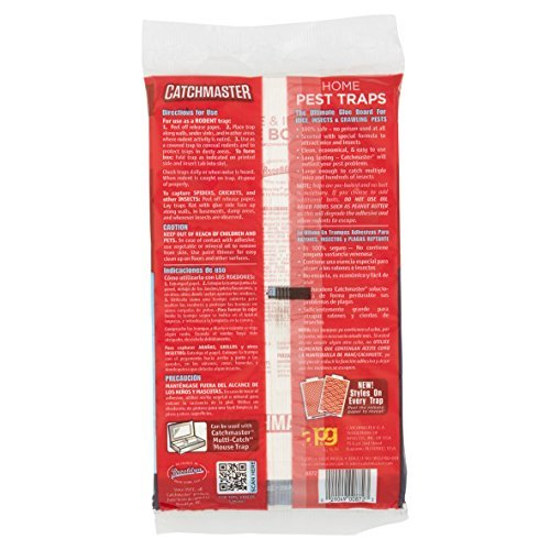 Amazon.com : Catchmaster Value Pack! 100% Safe Home Pest Traps, 12 count : Garden & Outdoor