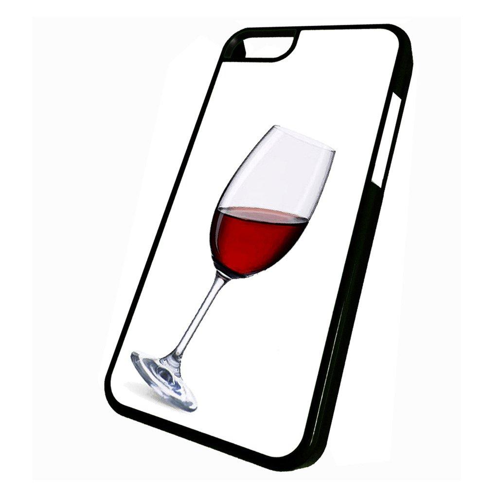 Amazon.com: Vino Tinto vidrio – iPhone 5 C Teléfono Celular ...