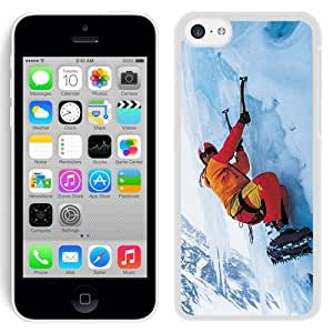 New Beautiful Custom Designed Cover Case For iPhone 5C With Rock Climbing (2) Phone Case