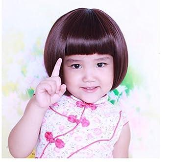 Amazon.com  2018 Korean children\u0027s wig wig child short