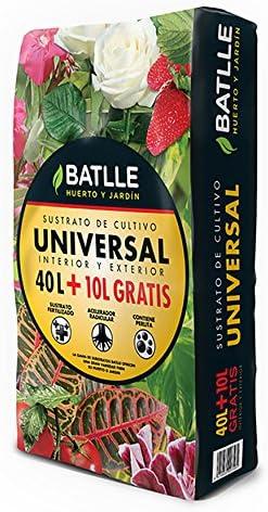 Sustratos - Sustrato Universal 50l. - Batlle: Amazon.es: Jardín