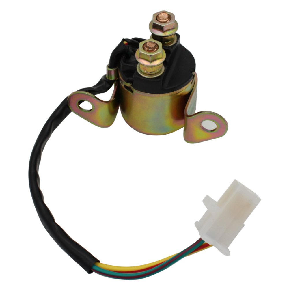 Cyleto Starter Relay Solenoid for SUZUKI DR200 DR200SE DR200S 1995 1996 1997 1998 1999 2000 2001 2002 2003 2004 2005 2006 2007-2017