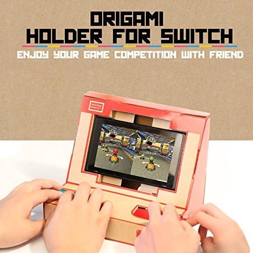 Festnight LABO NS Switch Case DIY Cardboard Holder Arcade Soporte ...