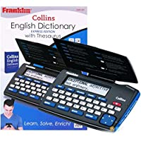 Franklin Electronic Express Collins English Dictionary & Thesaurus - DMQ-221