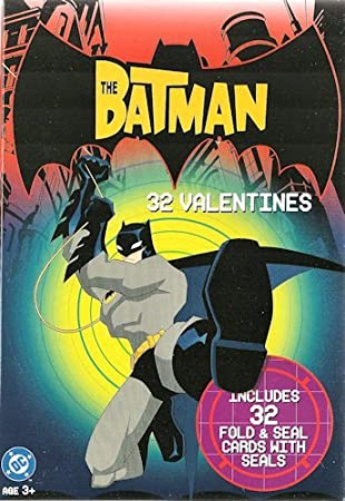 Batman Valentineu0027s Day Cards 32 Count Box
